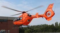 EC135 - D-HZSG - Christoph 29 - BwK Hamburg
