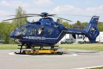 Eurocopter EC135 - D-HVBN - BPol Aussenstelle Chemnitz-Glösa