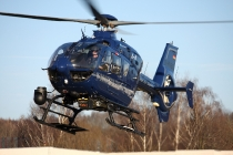 Eurocopter EC135 - D-HVBQ - BPol Aussenstelle Chemnitz-Glösa